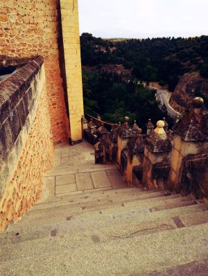 Stairs at Alcazar