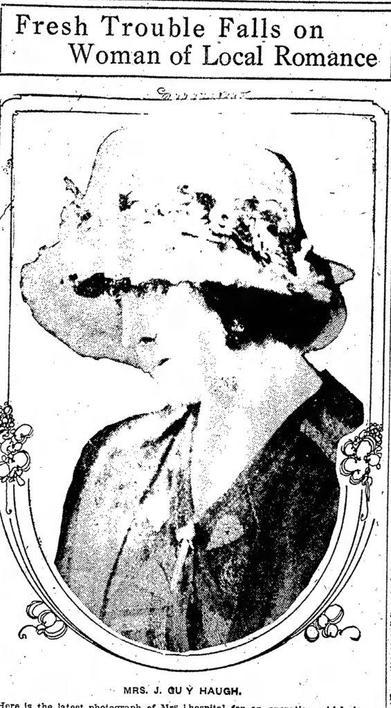 A portrait of Marguerite Castaign Haugh